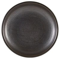 Cinder Black Terra Deep Coupe Plate